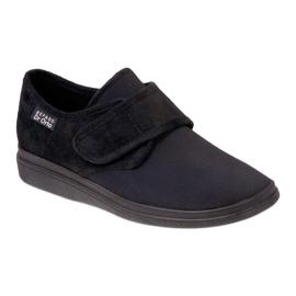 Befado zapatos de hombre pu 036M006 negro 1