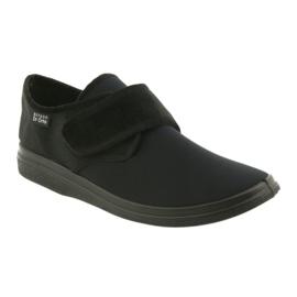 Befado zapatos de hombre pu 036M006 negro 2