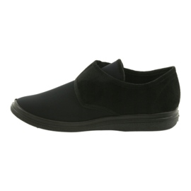 Befado zapatos de hombre pu 036M006 negro 3