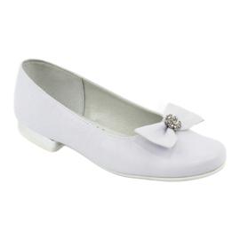 Zapato de salón comunión bailarinas blanco Miko 800 1