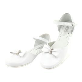 Cortesía de bailarinas de comunion miko 671 blancas. blanco 3