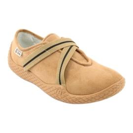 Befado zapatos de mujer pu - joven 434D017 marrón 2