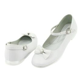 Bailarinas Miko 806 blancas blanco gris 2