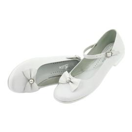 Bailarinas Miko 806 blancas blanco gris 3