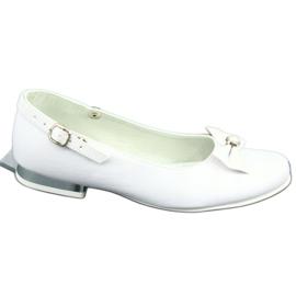 Bailarinas Miko 806 blancas blanco gris 4