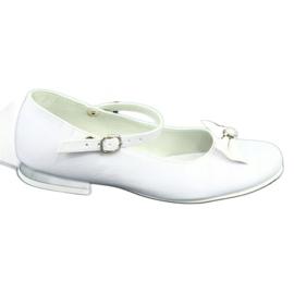 Bailarinas Miko 806 blancas blanco gris 5