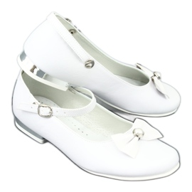 Bailarinas Miko 806 blancas blanco gris 6