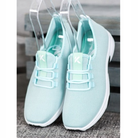 Kylie Calzado deportivo clásico azul 1
