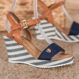 Goodin Sandalias de cuña de moda 2