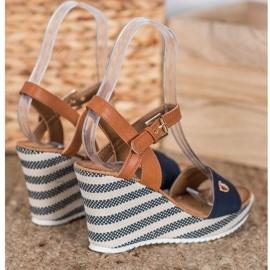 Goodin Sandalias de cuña de moda 1
