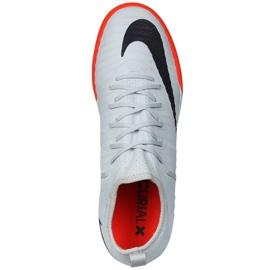Zapatillas de interior Nike MercurialX Finale II gris negro 3
