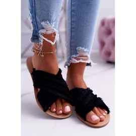 Chanclas para mujer Vices 7269 Black Jamen negro 3