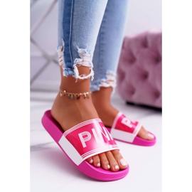 Zapatillas de mujer rosa Vrita 1