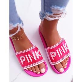 Zapatillas de mujer rosa Vrita 3