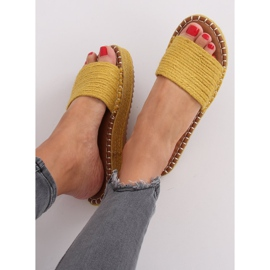 Chanclas alpargatas Honey 7970-PL Amarillo 4