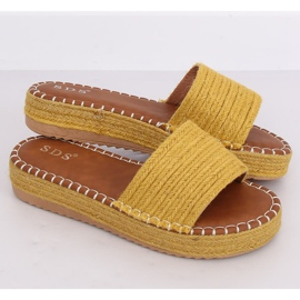 Chanclas alpargatas Honey 7970-PL Amarillo 1