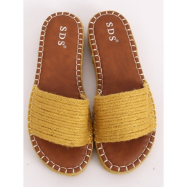 Chanclas alpargatas Honey 7970-PL Amarillo 2