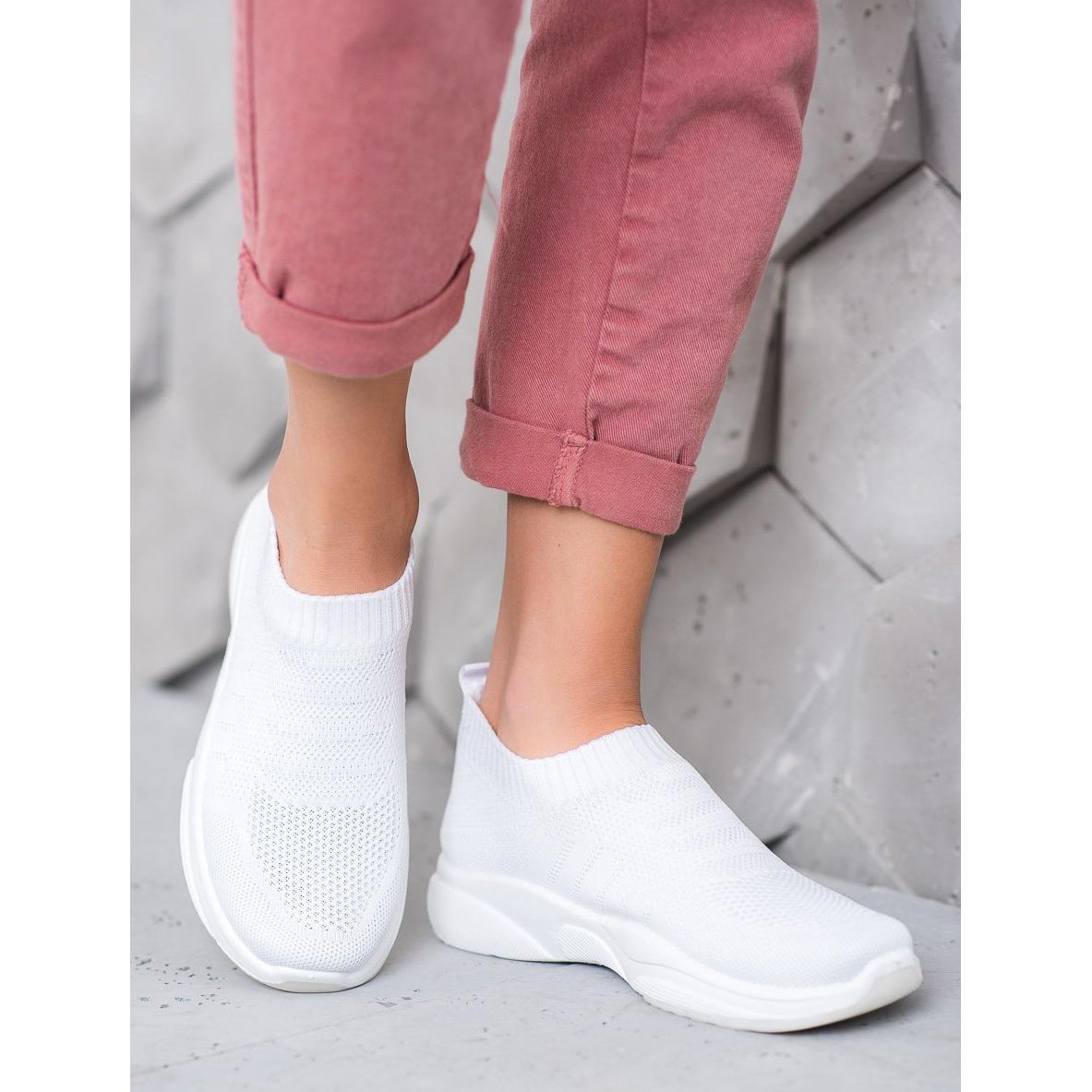 Sweet-Shoes-Zapatillas-de-plataforma-comodas-blanco miniatura 2