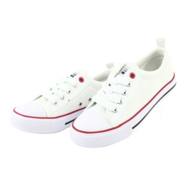 American Club Zapatillas American LH25 anudadas blancas blanco 3