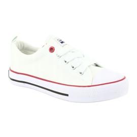 American Club Zapatillas American LH25 anudadas blancas blanco 1