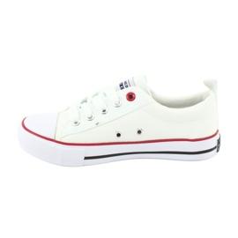 American Club Zapatillas American LH25 anudadas blancas blanco 2