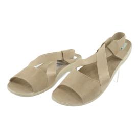 Sandalias de mujer Adanex marrón 3