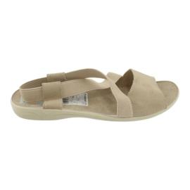 Sandalias de mujer Adanex marrón 2