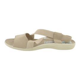 Sandalias de mujer Adanex marrón 1