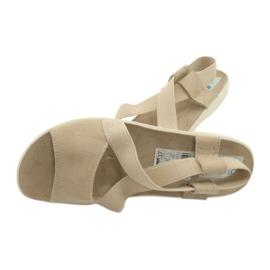 Sandalias de mujer Adanex marrón 4