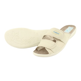 Zapatillas elásticas Adanex 17660 beige 3