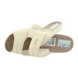 Zapatillas elásticas Adanex 17660 beige 4