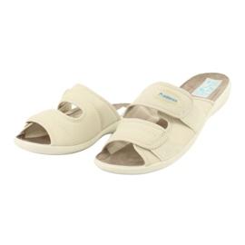 Zapatillas elásticas Adanex 17660 beige 2