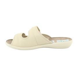 Zapatillas elásticas Adanex 17660 beige 1