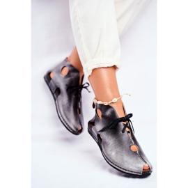 Zapatos de mujer Maciejka Popiel 03426-03 gris 2