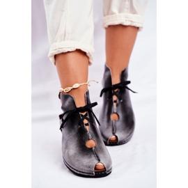 Zapatos de mujer Maciejka Popiel 03426-03 gris 1