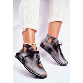 Zapatos de mujer Maciejka Popiel 03426-03 gris 3