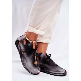 Zapatos de mujer Maciejka Popiel 03426-03 gris 5