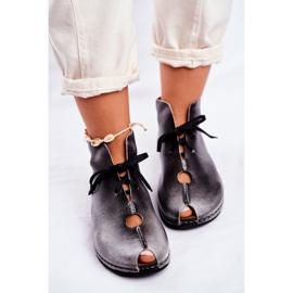 Zapatos de mujer Maciejka Popiel 03426-03 gris 6