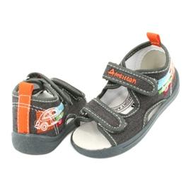 American Club Sandalias americanas zapatos para niños plantilla de cuero TEN46 3