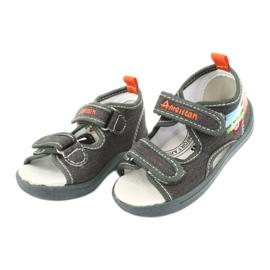 American Club Sandalias americanas zapatos para niños plantilla de cuero TEN46 2