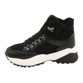 Botas deportivas cómodas Lee Cooper LCJL-20-31-152 negro 1
