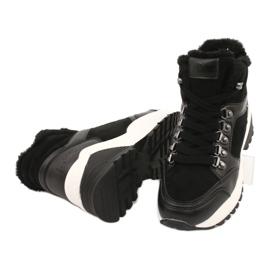 Botas deportivas cómodas Lee Cooper LCJL-20-31-152 negro 3