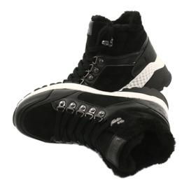 Botas deportivas cómodas Lee Cooper LCJL-20-31-152 negro 4
