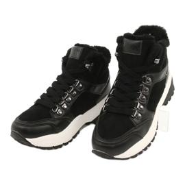 Botas deportivas cómodas Lee Cooper LCJL-20-31-152 negro 2