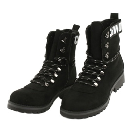 Evento Botas de madera High Black 9BT35-1331 Black Popsi negro 5