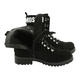 Evento Botas de madera High Black 9BT35-1331 Black Popsi negro 6