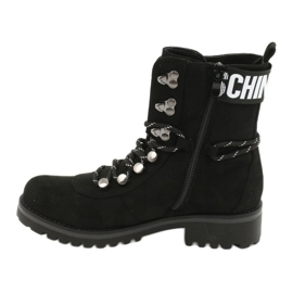 Evento Botas de madera High Black 9BT35-1331 Black Popsi negro 4