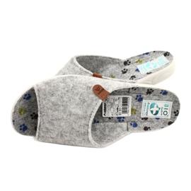Pantuflas fieltro Adanex 25494 gris 4