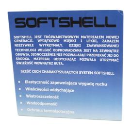 American Club Botas softshell americanas con membrana azul marino SN12 / 20 negro marina 1