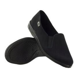 Zapatillas slip-on negras Befado 001M060 negro 3
